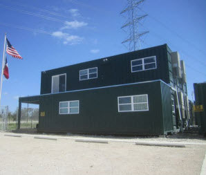 Multi-Level Shipping Container Offices: Stack and Combine