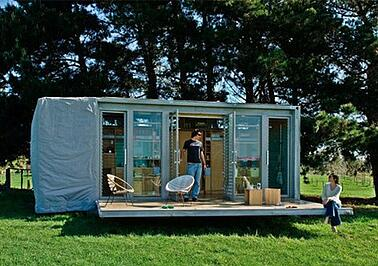 Shipping container based structure