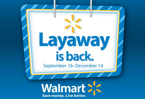 Walmart uses shipping containers for storage to support their layaway program.