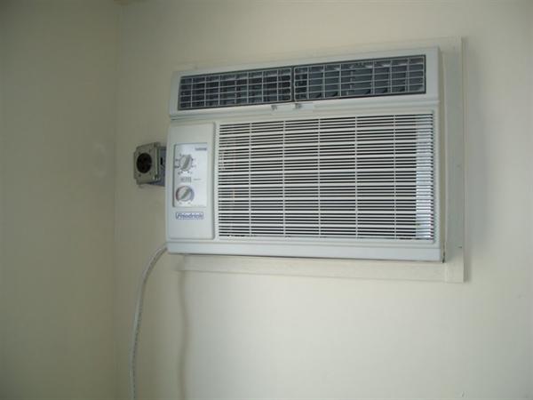 Air-conditioned living quarters