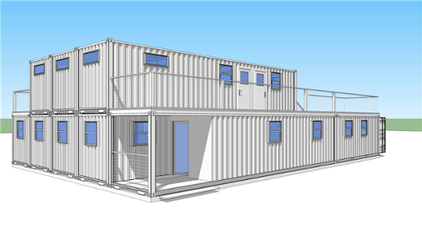 container rendering