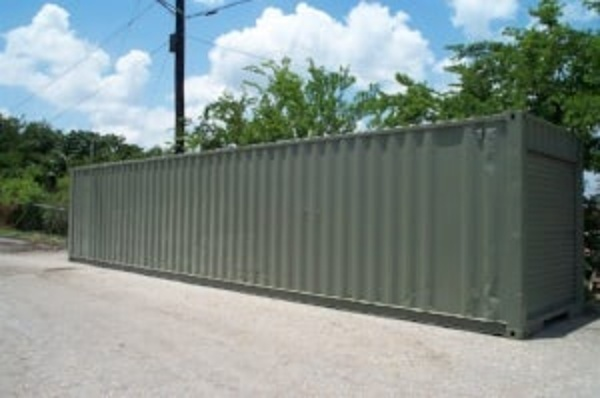 40ft Storage Container On Site