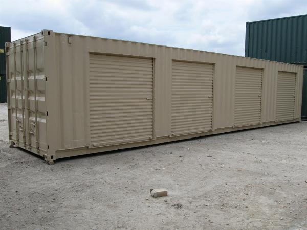 military trailer