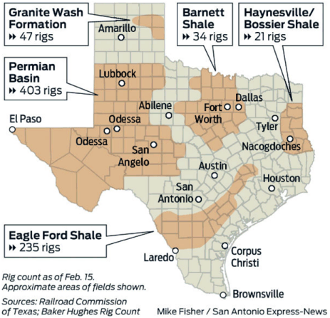 The Cline Shale Climbs To The Top Of The Shale Pack