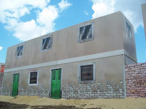Military training building