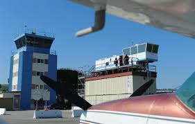 shipping containers at airports