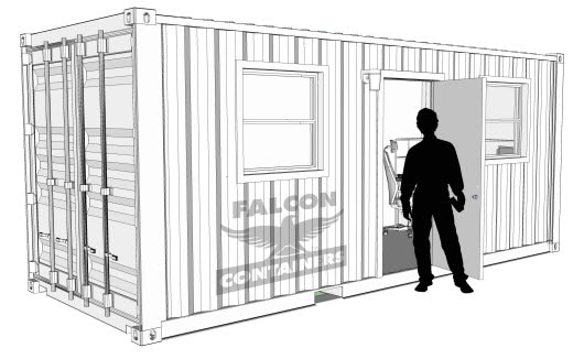 Shipping Containers Provide Oilfield Housing to Relieve Shortage
