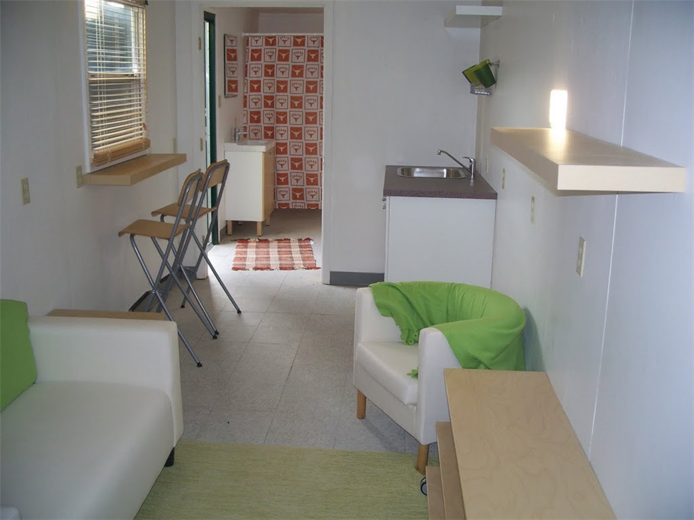 Living Shipping Container Interior