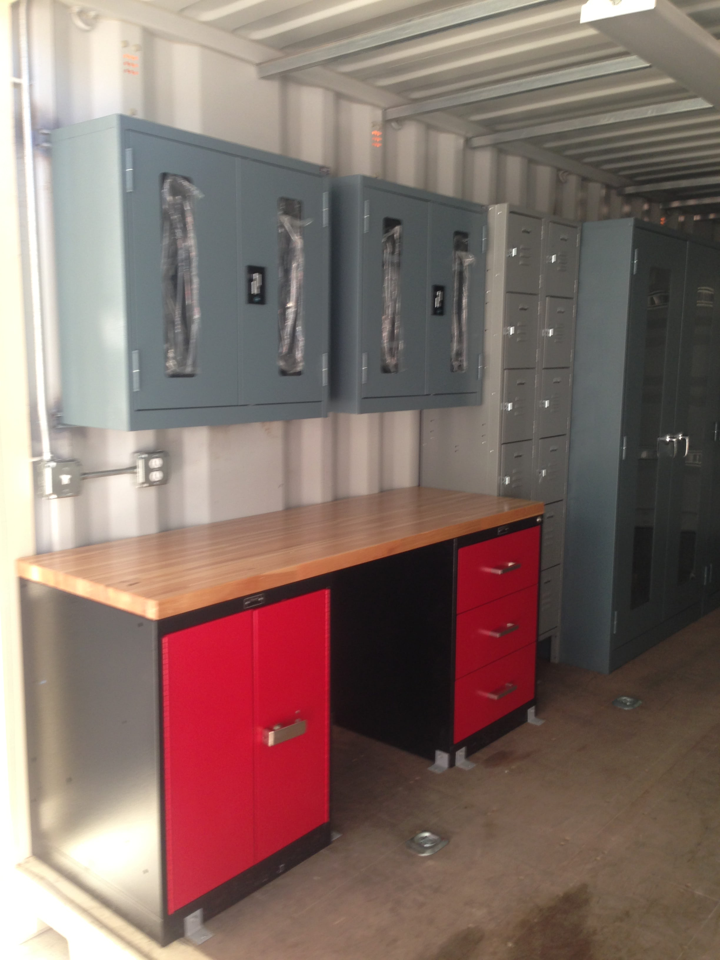oil and gas container home