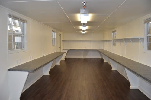 12ft wide mobile shipping container office