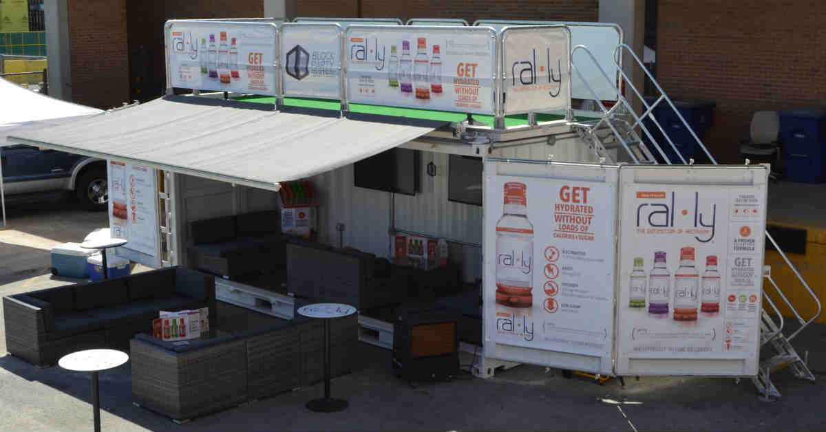 Rooftop Deck and Stairs for Shipping Container Structure