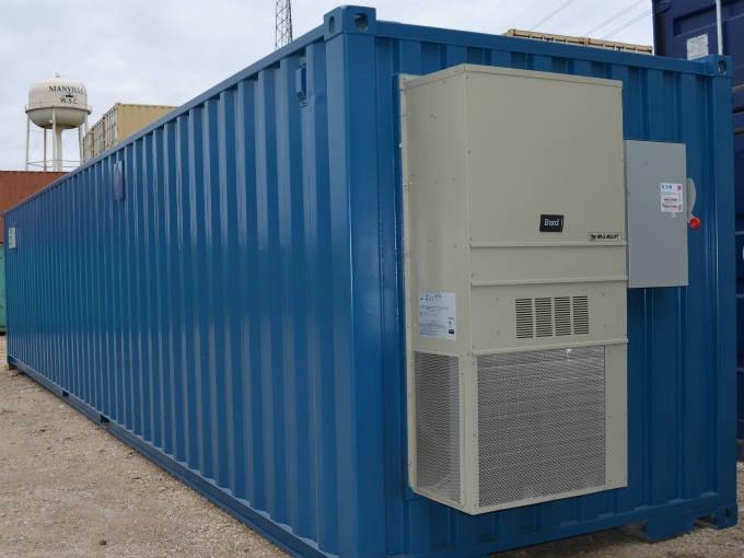 Water Treatment Equipment Container Enclosure Exterior
