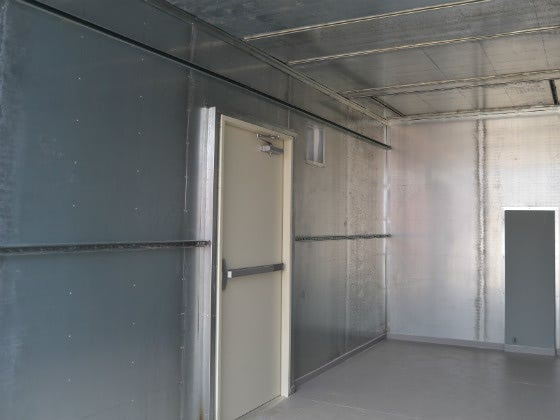 Water Treatment Equipment Container Enclosure