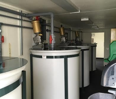 Water Treatment Equipment Container Enclosure