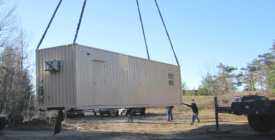Learn about shipping container delivery options.