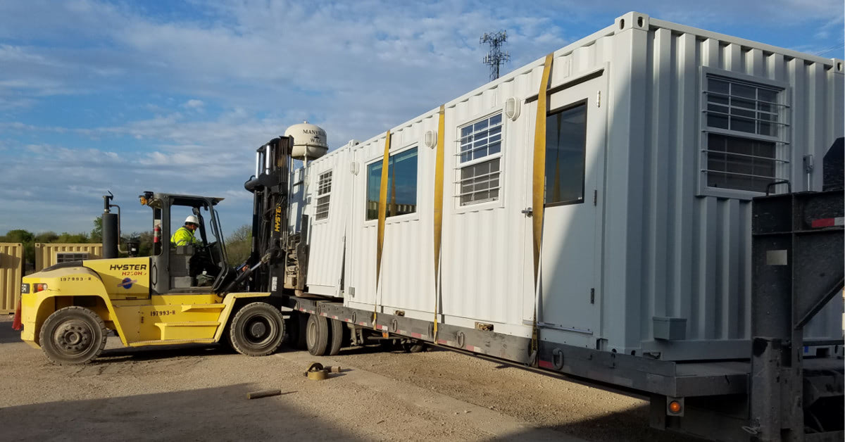A mobile module for a multi-story building