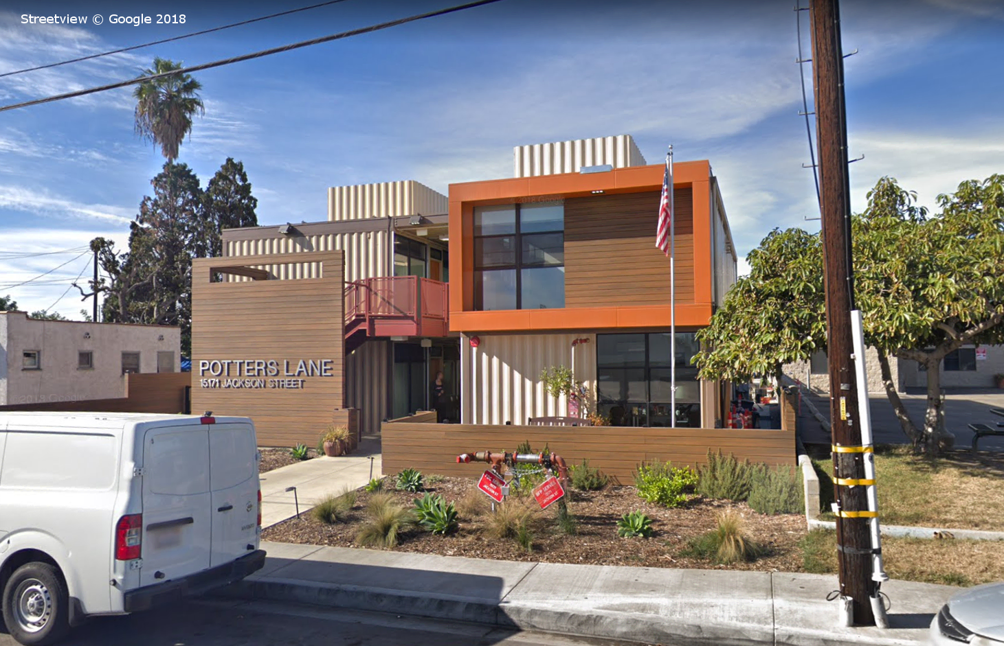 Potters Lane Veterans Housing, Google Streetview