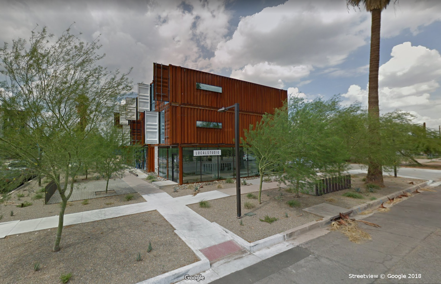 The Oscar Apartment Complex, Phoenix AZ, Google Streetview