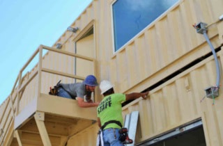 Click to learn more about shipping container based buildings