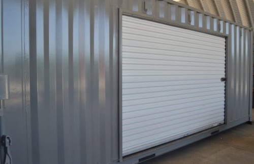 20ft container with roll-up door
