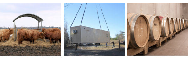Modified shipping containers give farmers and ranchers an better alternative to sheds and barn storage.