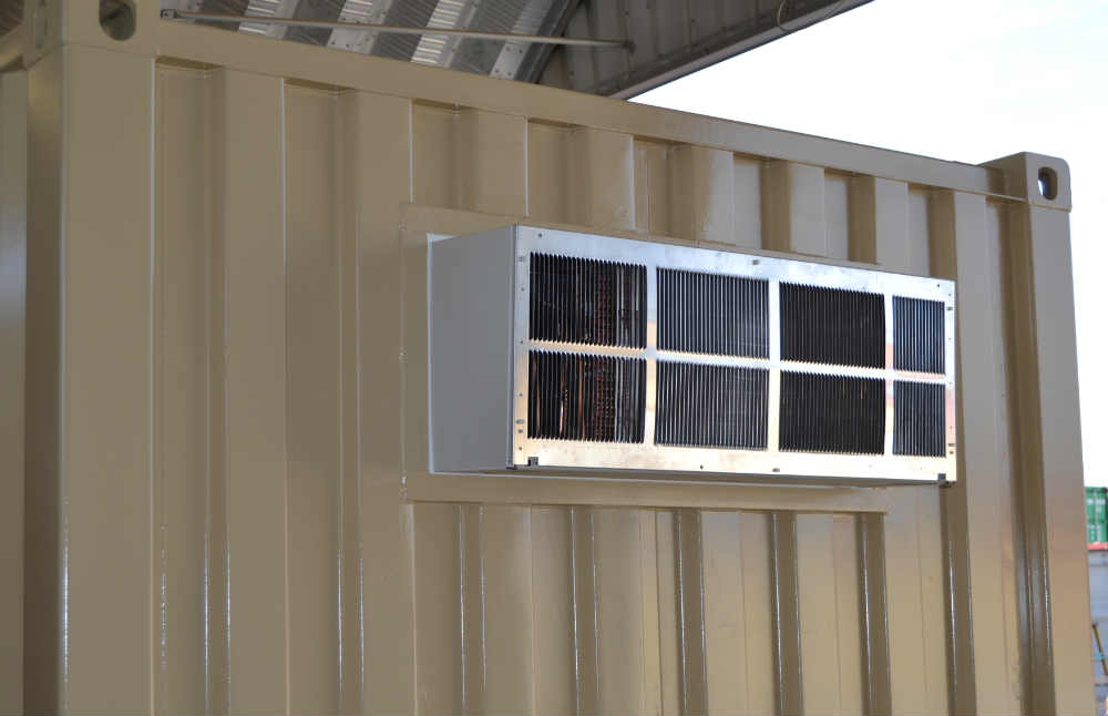 HVAC Climate Controlled Container