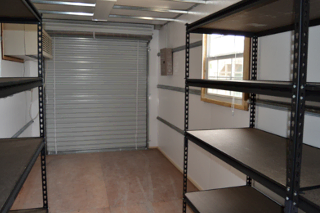 Schools use modified shipping containers to store IT and athletic equipment.