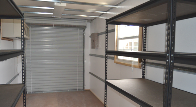 Insulated conex container ideal for school server rooms