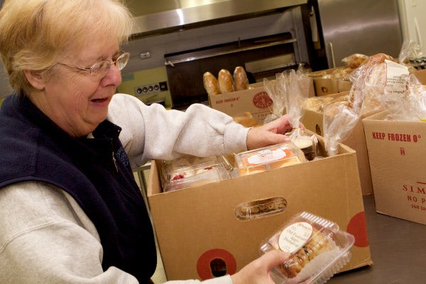 The Sudbury Community Food Pantry is 100% volunteer run.