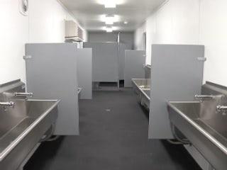 Conex Field Restroom Comfort Station