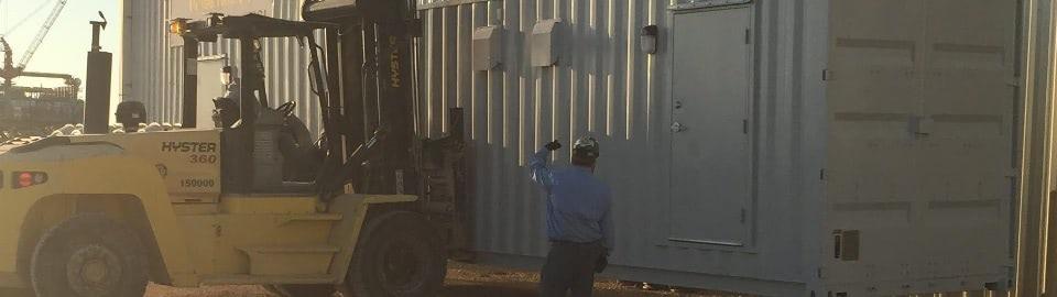 Falcon Mobile Restroom On Site