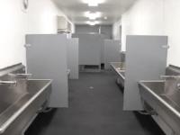 Falcon Mobile Field Shipping Container Restroom Interior