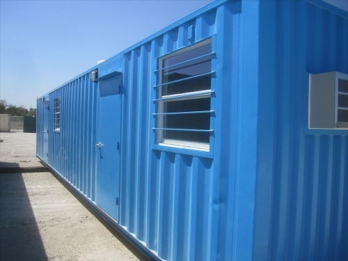 Shipping container remote field office