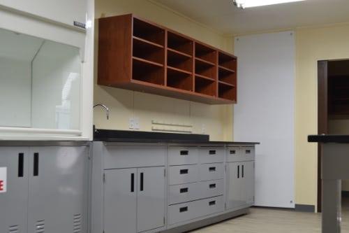 Container Lab Interior