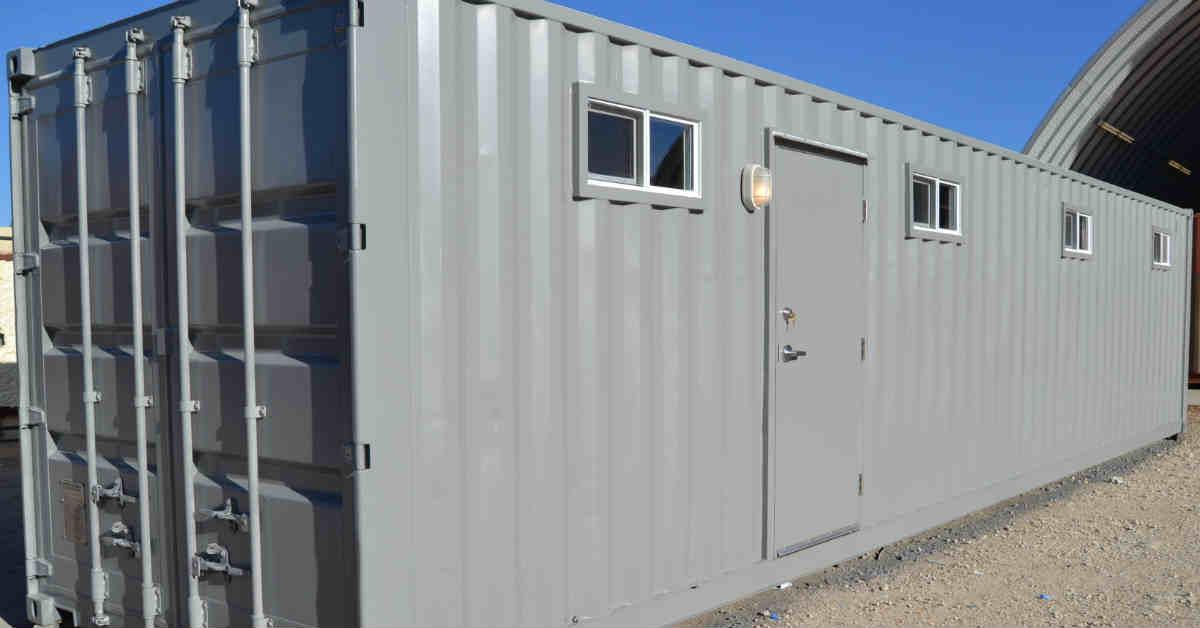 Locker Room Comfort Station Exterior