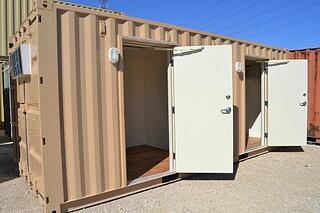 20 Foot Dual Container Office