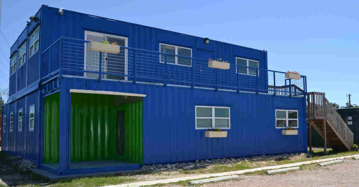 Falcon Structures Container Office Headquarters