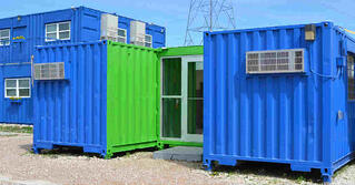 Falcon Structures Modified Container Offices