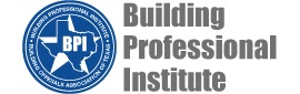 Logo for the building professional institute of Texas.