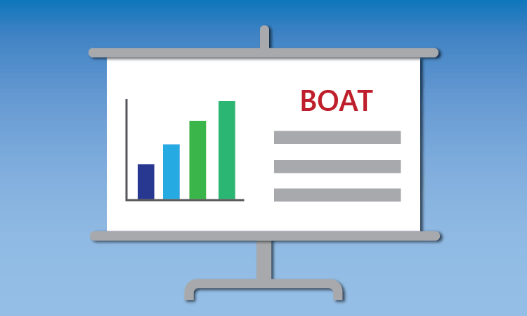 Icon for BOAT presentation on shipping container permitting