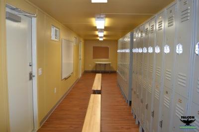 Conex Container Breakroom