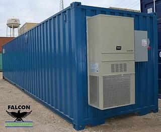 Climate Controlled 40ft Container with Bard Unit
