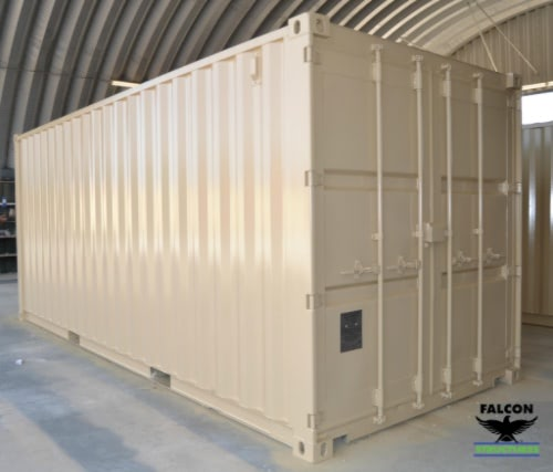 20ft container cargo doors