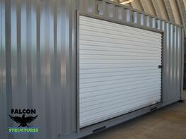 Shipping Container With Rollup Door