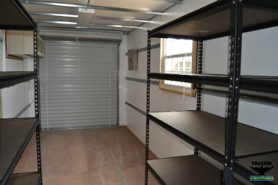 Sea Container With Shelving