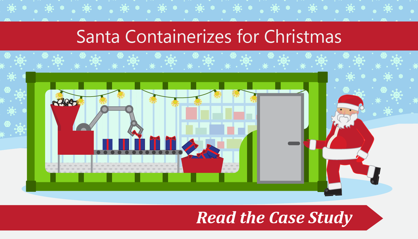 Click to learn about how shipping containers helped at Christmas.