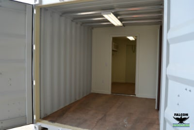 Store and Work Shipping Container