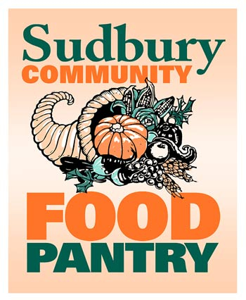 The Sudbury Community Food Pantry's logo.