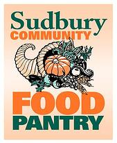 The Sudbury Community Food Pantry's logo.