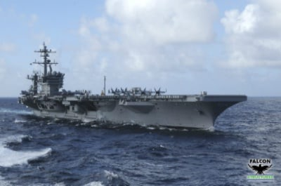 USS Carl Vinson Aircraft Carrier